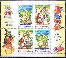 2010 Roemenië blok 467 II Europa CEPT kinderboeken
