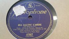 THE ORGAN THE DANCE BAND AND ME MIA CANZONE D'AMORE PARLOPHONE A7667