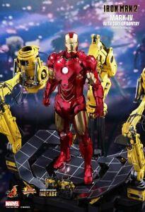 Hot Toys Iron Man Gantry Mark 4 IV  1/6 Diecast NEW MMS462 D22 MK4 Tony Stark