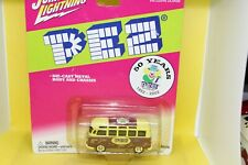 Johnny Lightning Volkswagen Camper Van with Pez decals