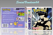 """Boitier du jeu """"POKEMON CRISTAL"""", Custom, Game Boy Color. FR. HD. SANS LE JEU."""