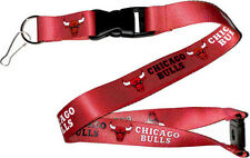 Chicago Bulls Break Away Lanyard with Double Sided Logo/Graphics