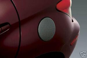 Scion xA 2004 - 2006 Carbon Fiber Fuel Gas Door Applique - OEM NEW!