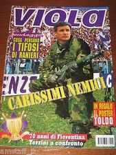 LA FIORENTINA RIVISTA VIOLA=1996/11=70 ANNI TERZINI=RANIERI=POSTER TOLDO=