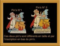 Pin's Asterix Corner rare n° 2 sur la photo RARE