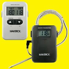 NEW ET-71os Maverick WIRELESS/Remote Smoker/BBQ Dual Readout  Probe Thermometer!