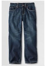 Lands' End Big Kid Jeans Size: 18 Husky (Extra Large) New Ship Free Lined Warm