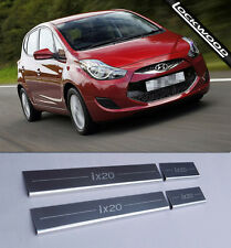 Hyundai ix20 (Released 2010) Stainless Steel Sill Protectors / Kick Plates