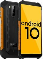 Rugged Cell Phone Unlocked 4G Android 10 32GB Octa Core Waterproof Smartphone