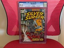 Silver Surfer #13 CGC 9.2 White Pages Doomsday Man