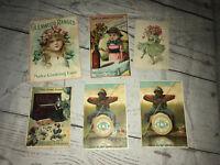 Vintage Postcards Historical Advertising Lion Coffee Trade Cards Hops Malt