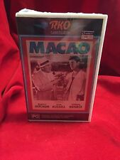 Macao VHS Movie Video Tape RKO Classic Collection