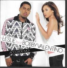 CD SINGLE 3 TITRES--LESLIE FEAT BOBBY VALENTINO--2006--NEUF / SEALED