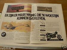 A205-BMW R80 G/S,R80 RT ADD POSTER 1985 MOTORRAD BIKE