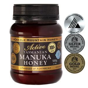 Manuka honey, Organic, Tasmanian,  500gms, MGO 100+, free shipping
