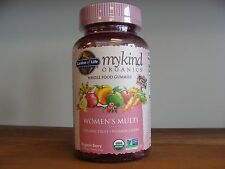 Garden of Life - myKind Organics Women's Multi  Organic Berry 120 - GUMMY DROPS