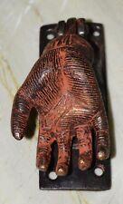 Brass Door Knocker Vintage Style Bloody Hand Ghost Horror Door Ring Decor BM-741