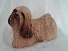 Sandicast 1989 Vintage 364 Lhasa Apso Dog Handcast Handpainted S. Brue Figurine