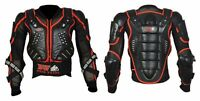 REFLACTIVE ADULT BODY ARMOUR Motorcycle Motorbike  spine Protector Guard Jacket