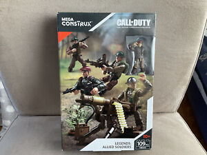 Mega Construx Call of Duty Legends Allied Soldiers
