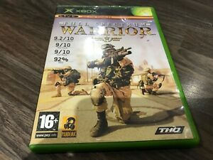 XBOX - Full Spectrum Warrior -  WITH MANUAL