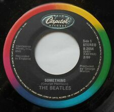 THE BEATLES Something / Come Together NM- CANADA 1983 CAPITOL Reissue RAINBOW 45