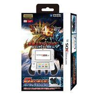 Monster Hunter 4G Expansion Slide Pad Grip Black for NINTENDO 3DS XL/LL Japan