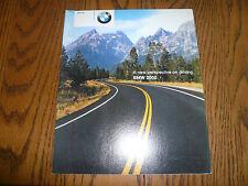 2002 BMW 3 5 7 Series M Cars Z8 Z3 - Sales Brochure