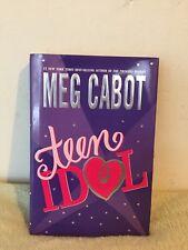 Teen Idol by Meg Cabot 2004 HCDJ