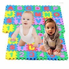 36 pcs Baby Kids Alphanumeric Educational Puzzle Blocks Infant Child Toy Gift RF
