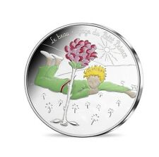Petit Prince France pièce de 50 euros 2016, COLORISEE, VAGUE 1.