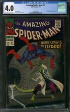 Amazing Spider-Man #44 CGC 4.0 (OW-W) 2nd appearance of the Lizard