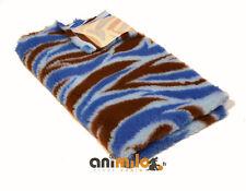 Tapis pour chien, Confortbed Vetbed Dry Extra motif flammes-50x75cm-bleu