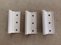 Silver Combination Door Hinges 3 Per order. Mobile Home Parts