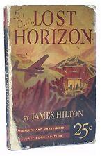 Lost Horizon James Hilton 1939 Rare First Mass Market Pocket Book Edition