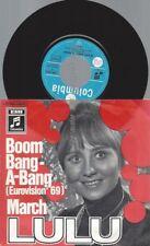 """7""""  Lulu – Eurovision 1969 - Boom-Bang-A-Bang"""