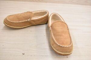 Minnetonka Tilden Moc 41001 Slippers, Men's Size 10M, Cinnamon