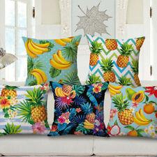 "Dekorative SQUARE Leinwand Obst Design Throw Pillow Case Cushion 18""x 18"""