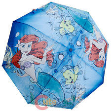 Disney Princess Little Mermaid Ariel Umbrella Large Retractable Umbrella