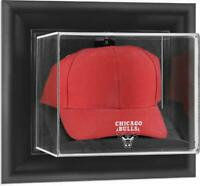 Chicago Bulls Black Framed Wall-Mounted Cap Display Case - Fanatics