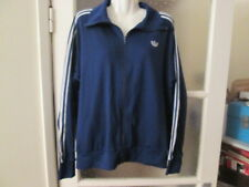 "Genuine Adidas Vintage Blue Tracksuit Top - 1970's Meduim 38""/40"" Chest"