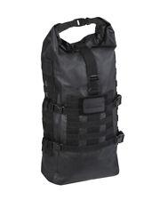 Tactical Backpack SEALS Dry-Bag Wasserfest Rucksack WandernTrekking Schwarz