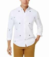 Tommy Hilfiger Classic Button-Front Casual Shirts for Men