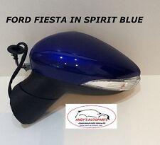 FORD FIESTA 08 - 12 Completo Ala Specchio LH o RH in spirito Blu