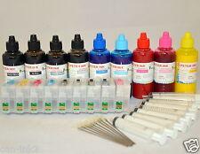 9X100ML pigment refillable ink cartridge kit for EPSON SC P600 printer 760 CISS