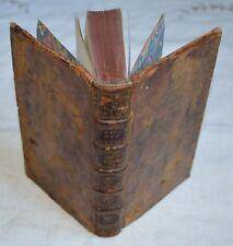 VOYAGE PITTORESQUE DES ENVIRONS DE PARIS DEZALLIER D ARGENVILLE ED DEBURE 1755