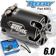 NEW Associated Reedy Sonic 540-M3 Motor 6.0 turn  #263 NIB Mach 3 asc263 B6D CRC
