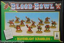 1994 Skaven Bloodbowl 3rd Edition Boxed Citadel Skavenblight Scramblers Team MIB
