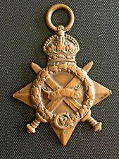BRITAIN BRITISH WORLD WAR I STAR MEDAL TO A SIKH OF 16TH RAJPUTS REGIMENT