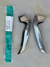 OEM 1971 1972 Chevelle Malibu SS Chevy  Front Bumper Guards w/new rubber inserts